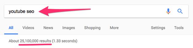 Понякога броят резултати в Google е огромен